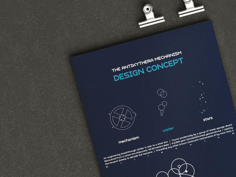 antikythyra design concept brochure