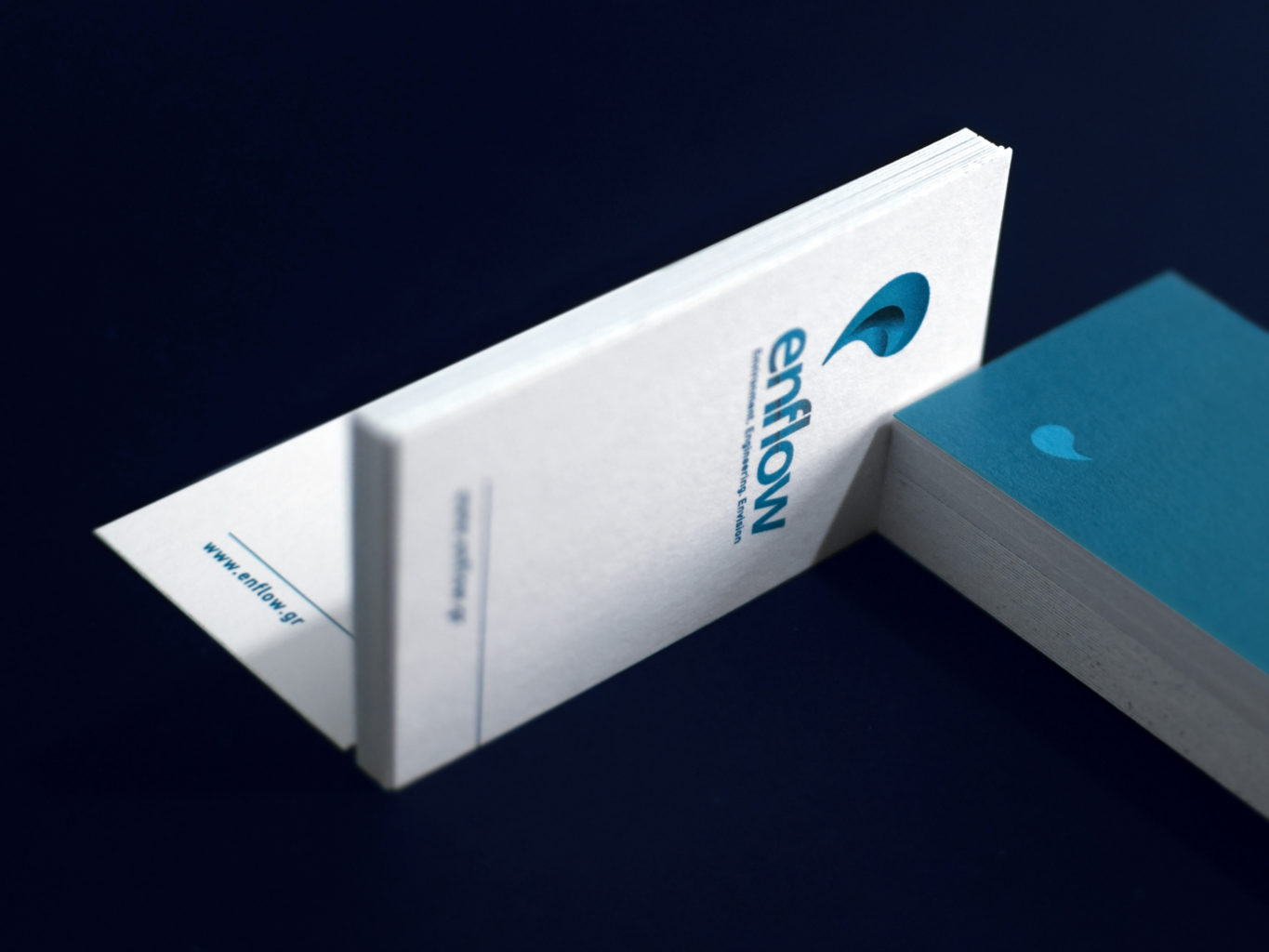 EnFlow / Water & Waste Management Company business cards
