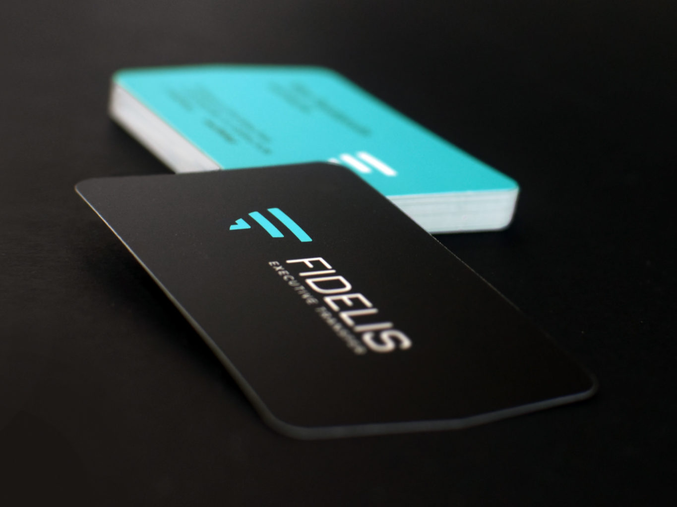 Fidelis Executive Transfers business cards