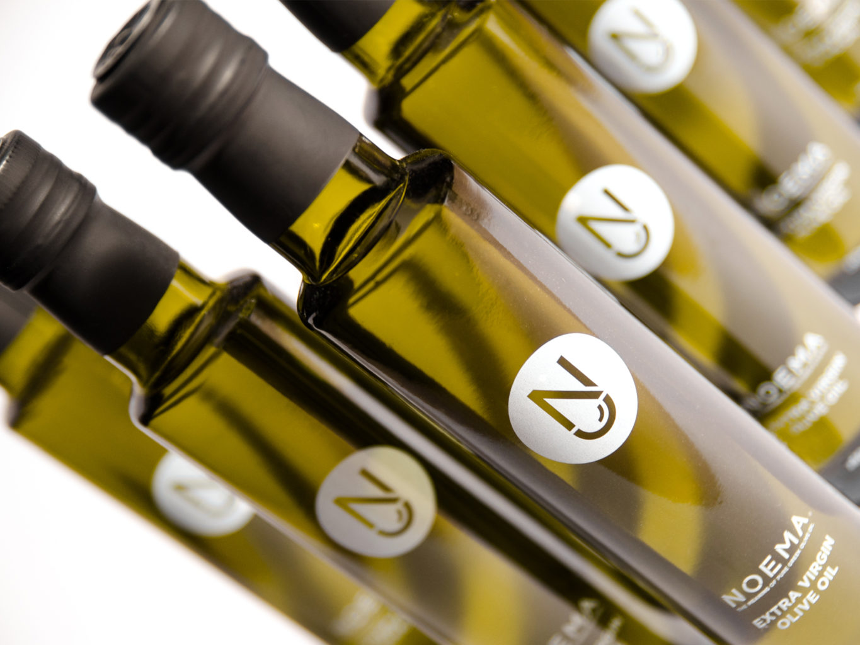 Noema Extra Virgin Olive Oil packaging