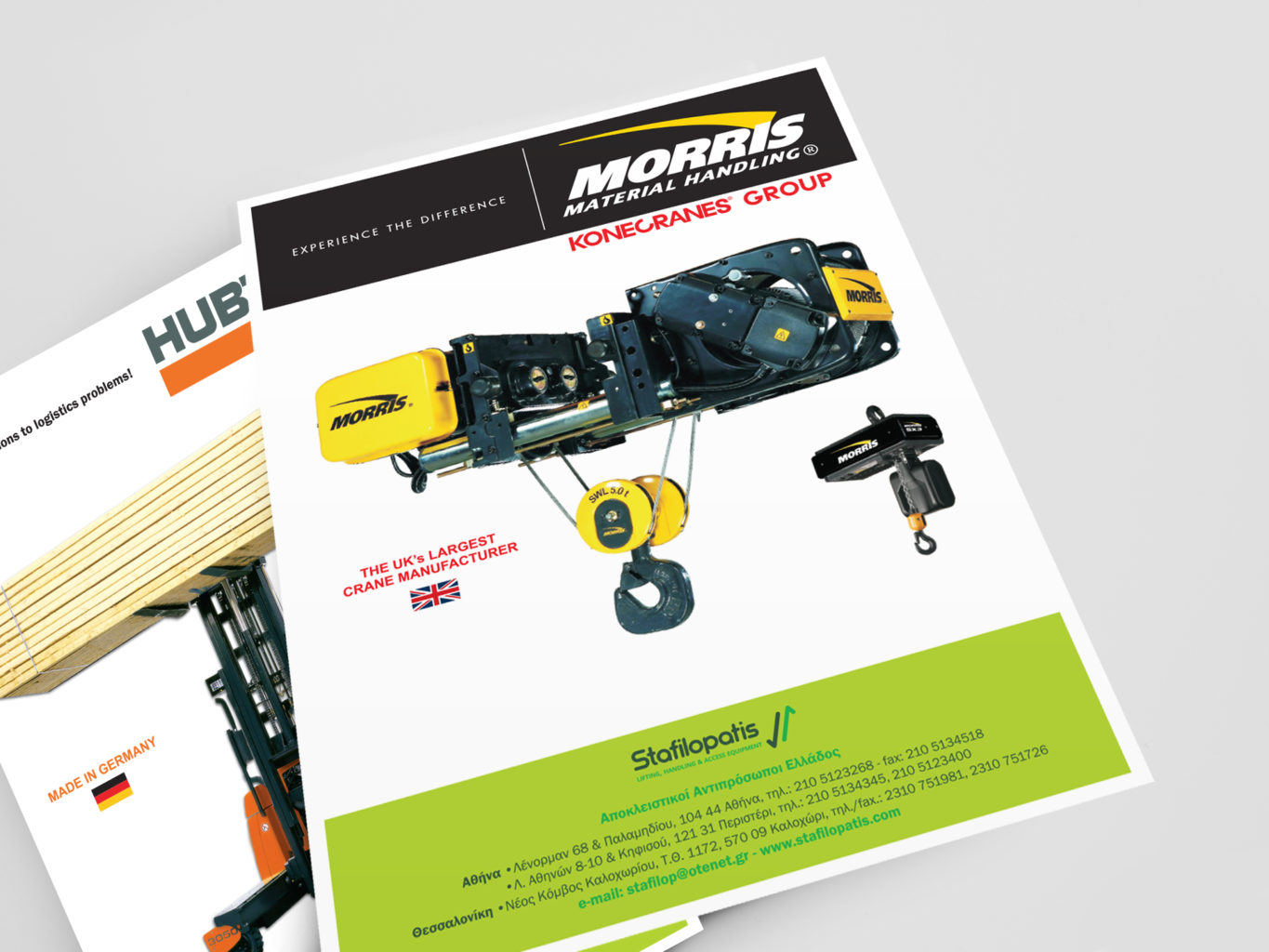Stafilopatis lifting, handling and access equipment brochures