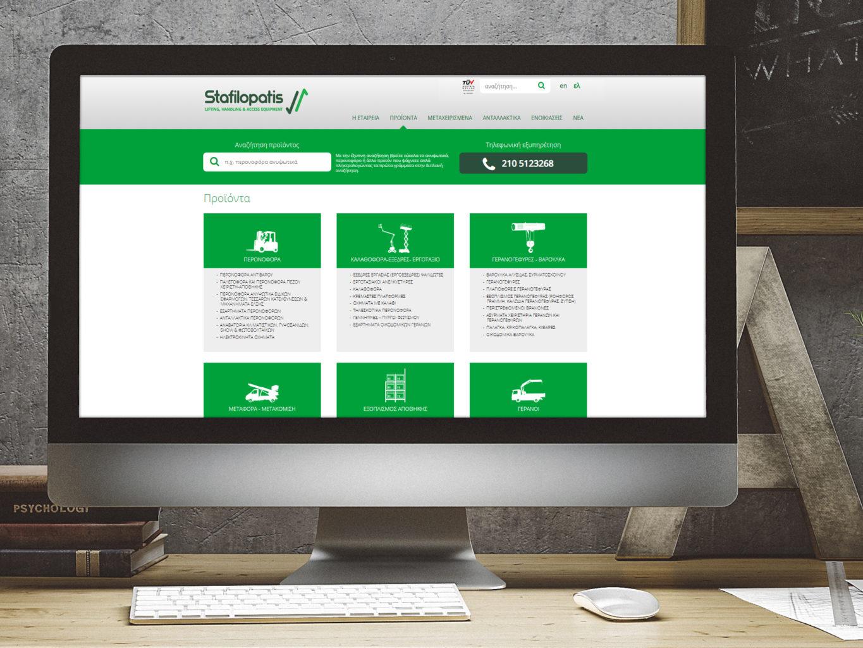 Stafilopatis lifting, handling and access equipment website