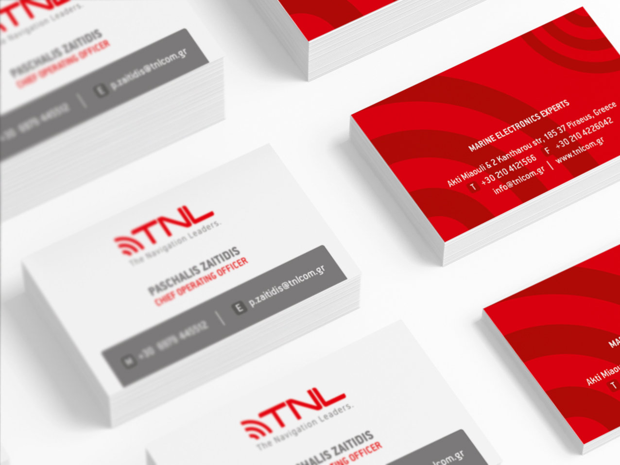 TNL Group business cards