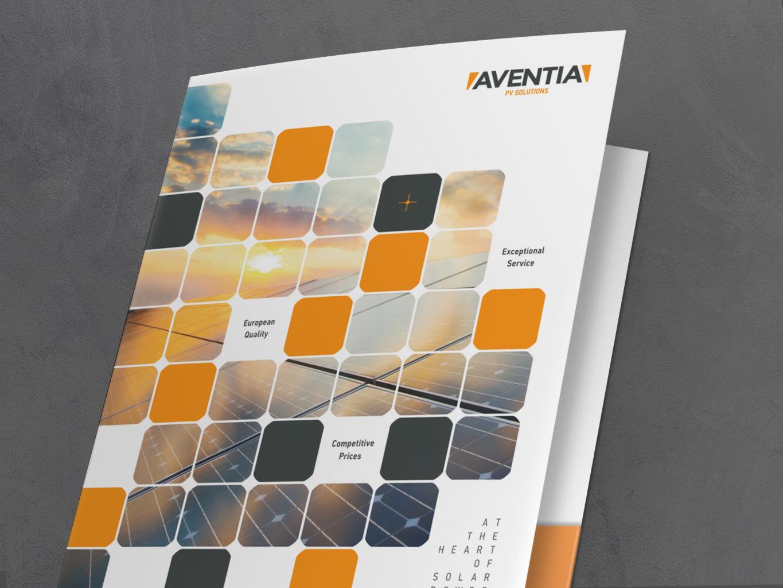 Aventia Solar folder