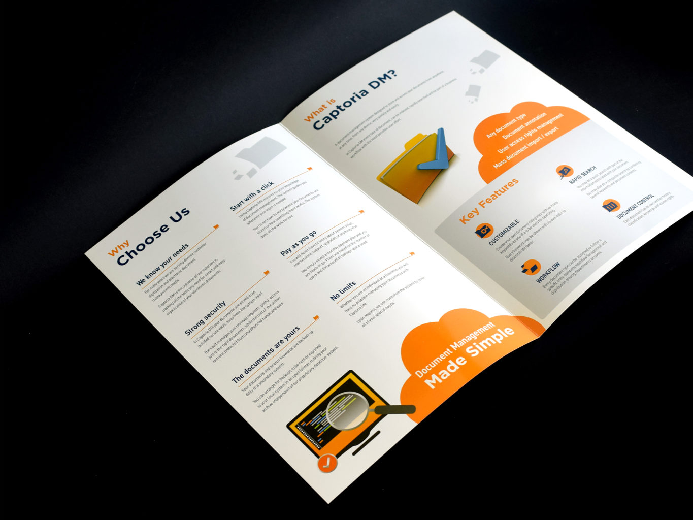 Captoria DM brochure