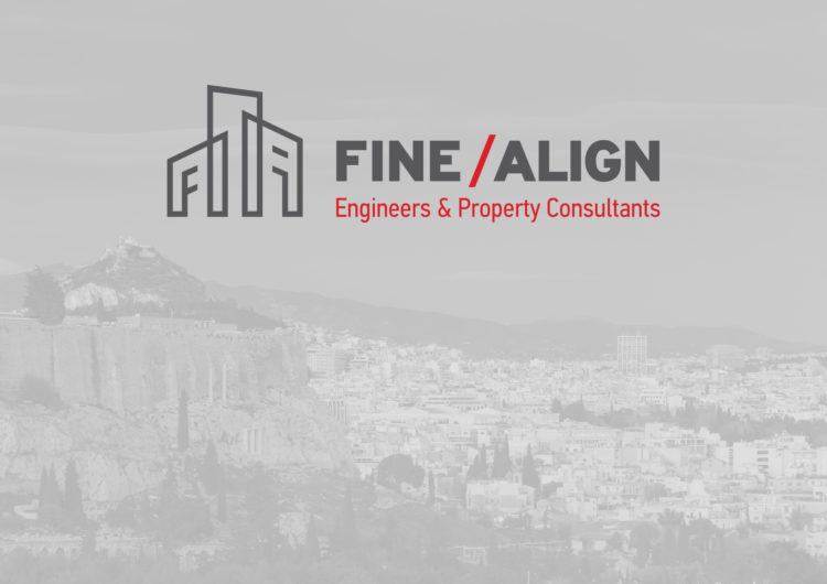 FINE / ALIGN   Engineers & Law Consultants logo design