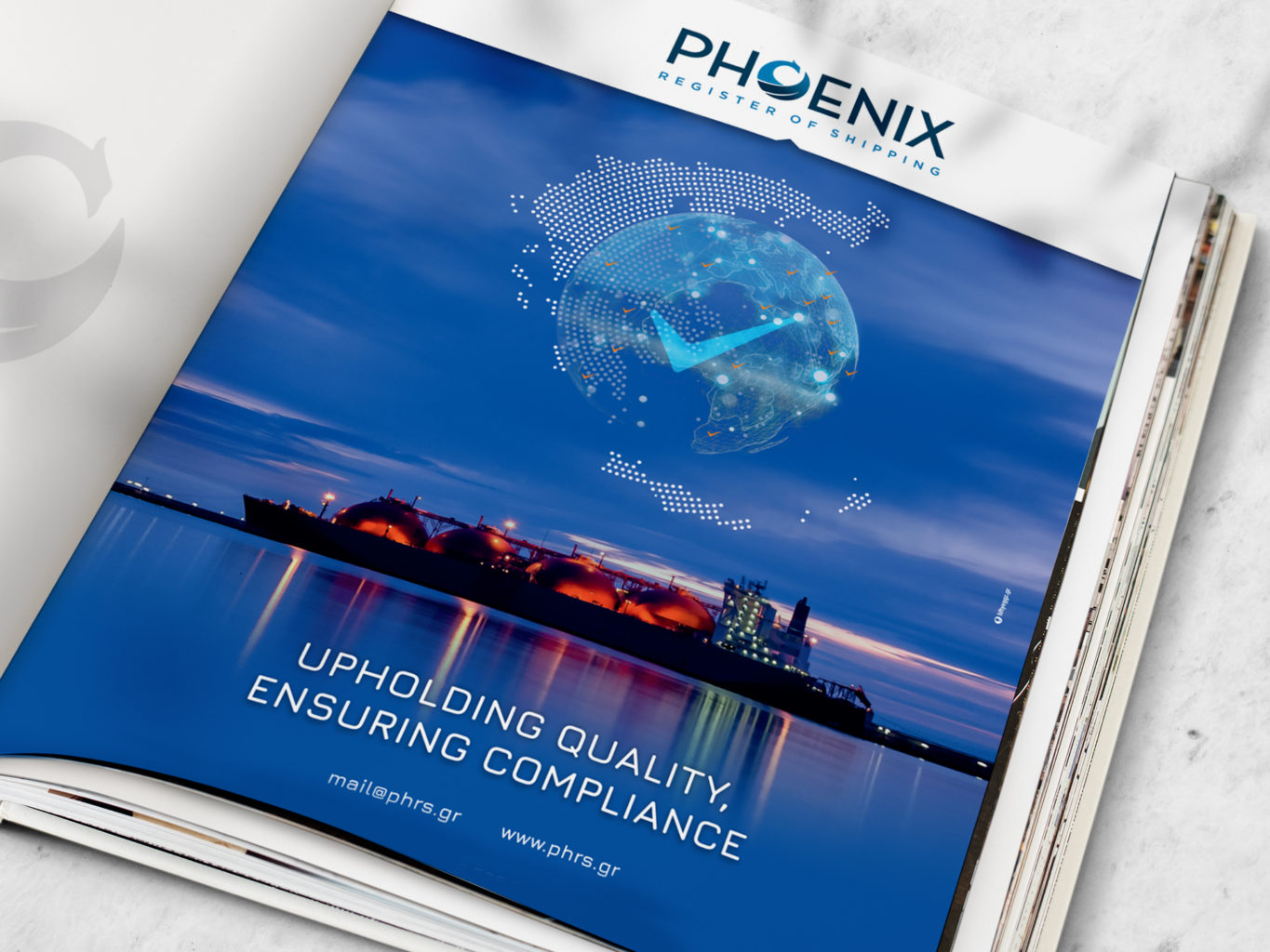 Phoenix - register of shipping brochures