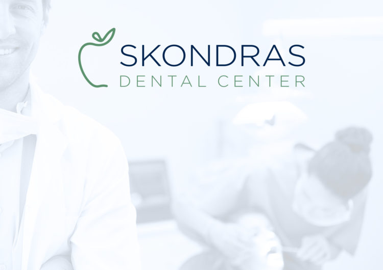 Skondras Dental Center logo design