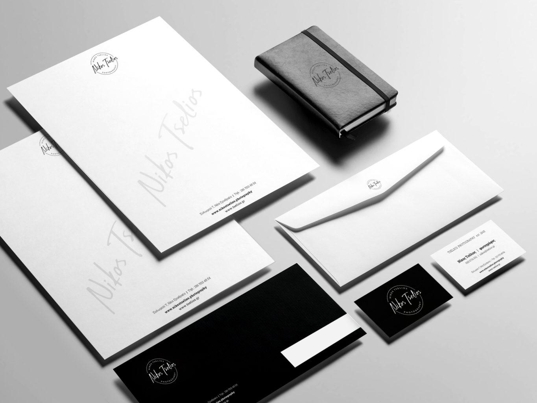 Tselios Photography Brand identity