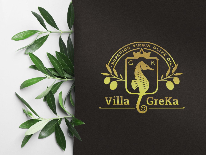 villa greka gold logo