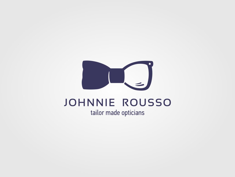 Johnnie Rousso Bespoke Opticians Logo by fiftyeggz