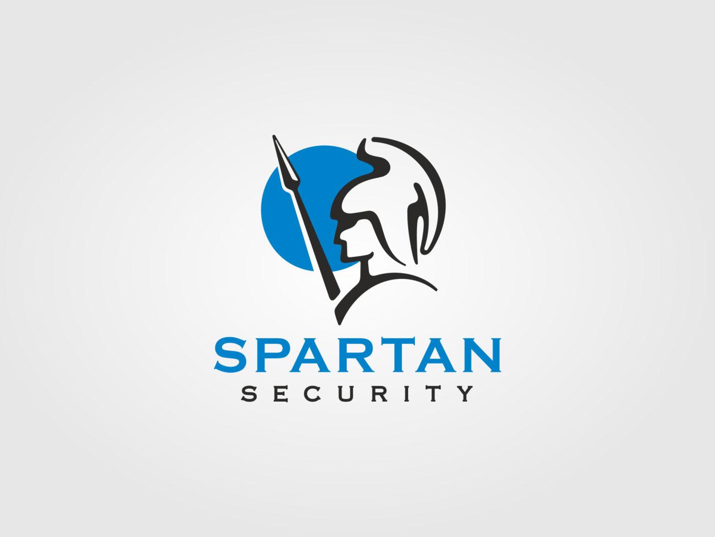 spartan security logo by fiftyeggz
