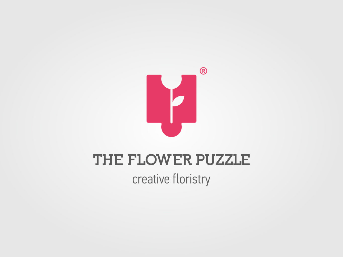 the flower puzzle logo by fiftyeggz