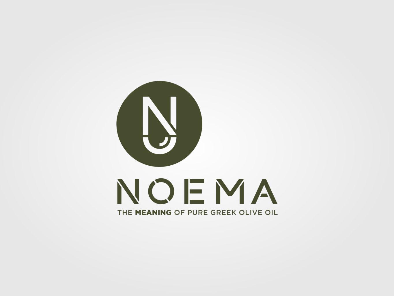 noema extra virgin olive oil logo by fiftyeggz