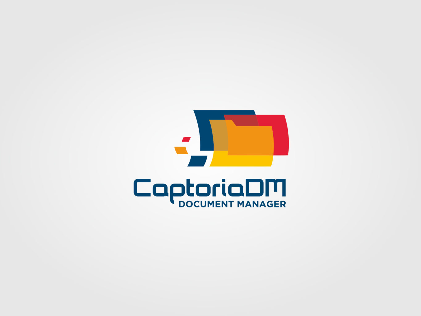 Captoria DM logo design
