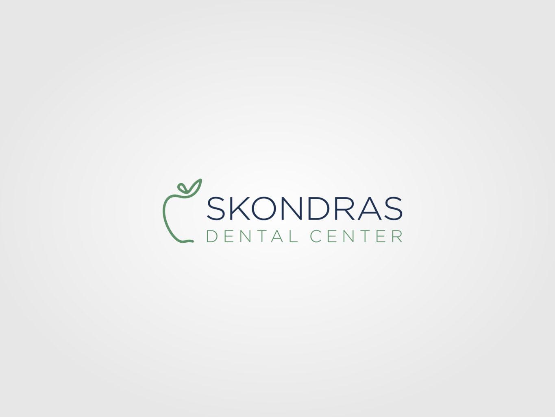Skondras Dental Center logo design